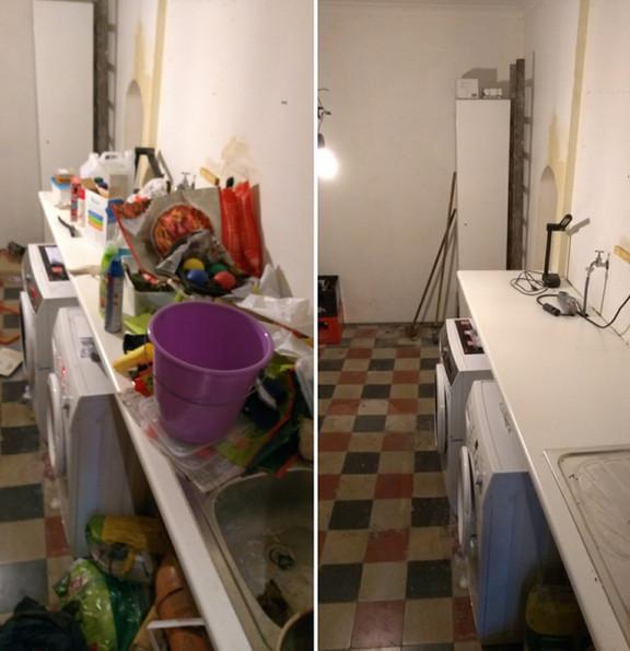 kelder opruimen