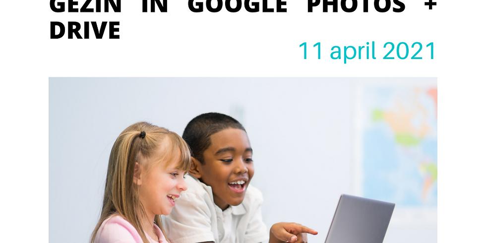 Foto's delen met het gezin met Google Photos en Drive
