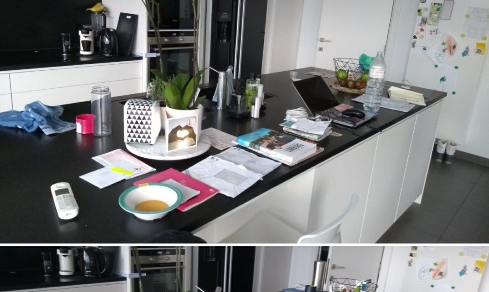keuken opruimen - clean deks