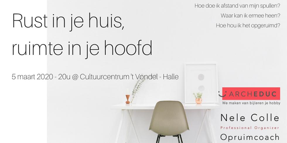 VOLZET - Halle - Rust in je huis, ruimte in je hoofd