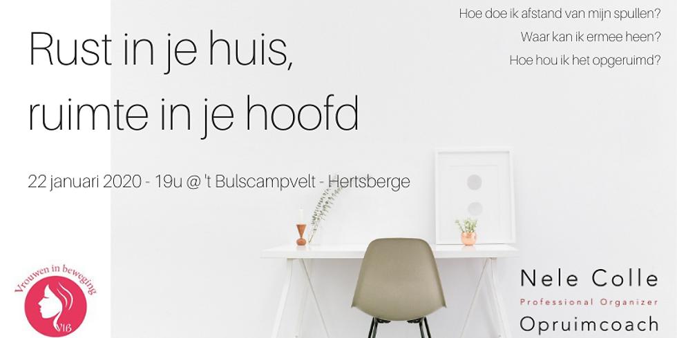 Hertsberge- Rust in je huis, ruimte in je hoofd