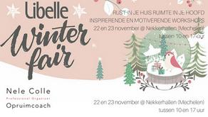 22 en 23-11-2018 - Rust in je huis, ruimt in je hoofd op de Libelle Winterfair