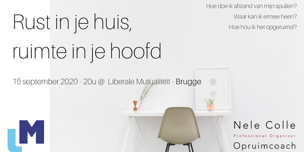 BRUGGE - Rust in je huis, ruimte in je hoofd  (1)