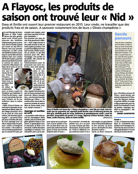 Article du Var Matin