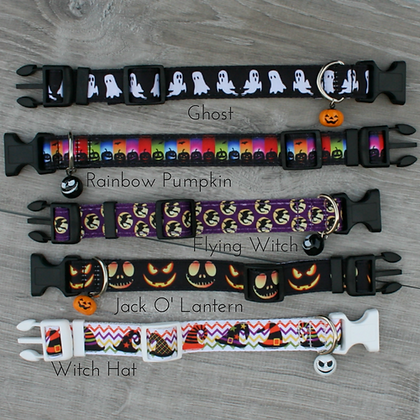 Halloween Collars with Bell