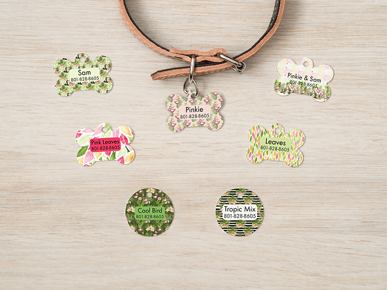 Tropical Pet IDs, Dog Tags, Cat Tags