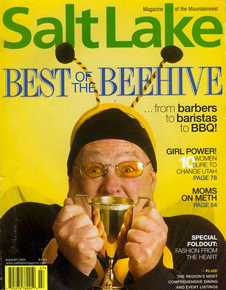 """Erica Lukes winner of """"Best Fitness Guru"""" Salt Lake Magazine"""