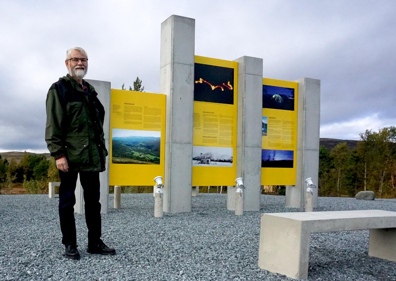 Hessdalen Monument
