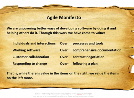 Agile Approach and Using Areas