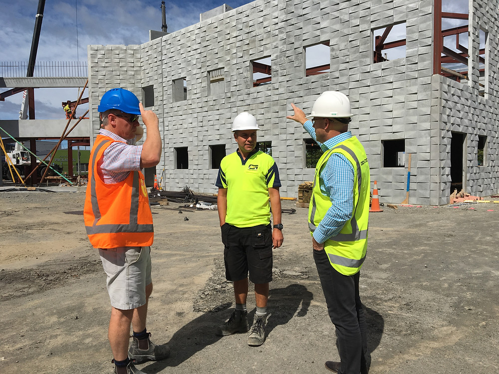 Lattey On site the Hastings Health Centre
