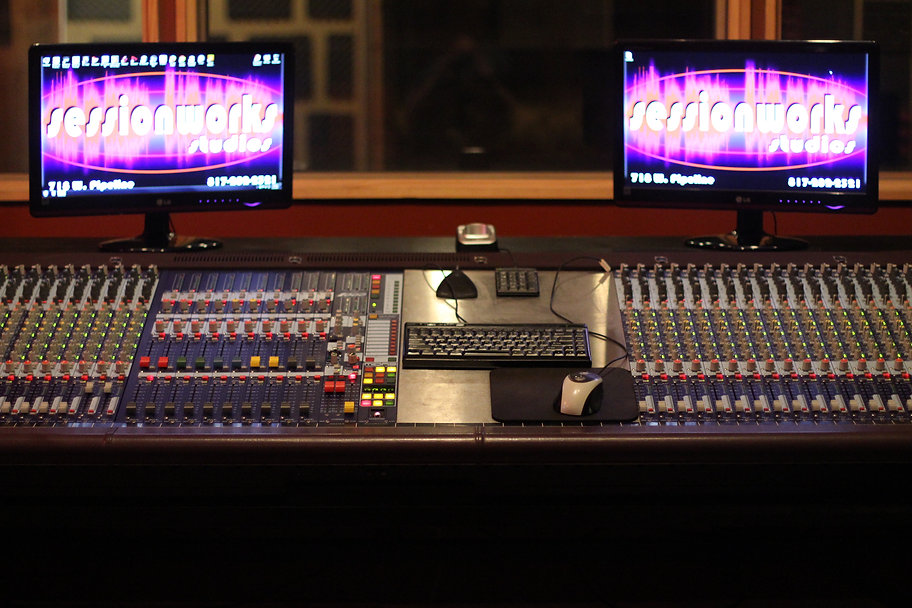 DFW Recording Studio, Recording Studio, Analog, Digital