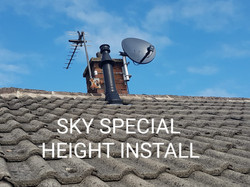 sky special heights installation
