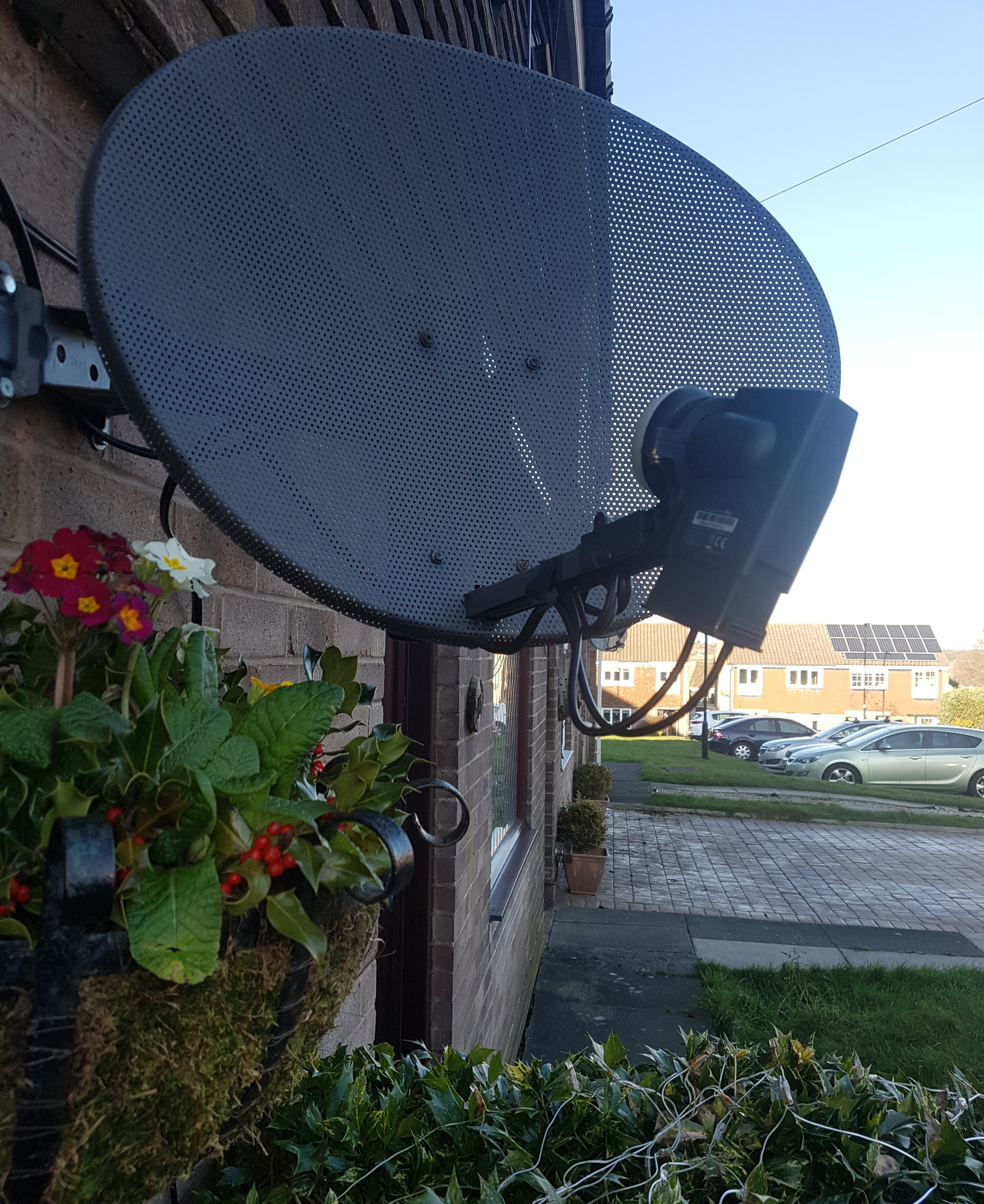 Sky Satellite Dish Installation