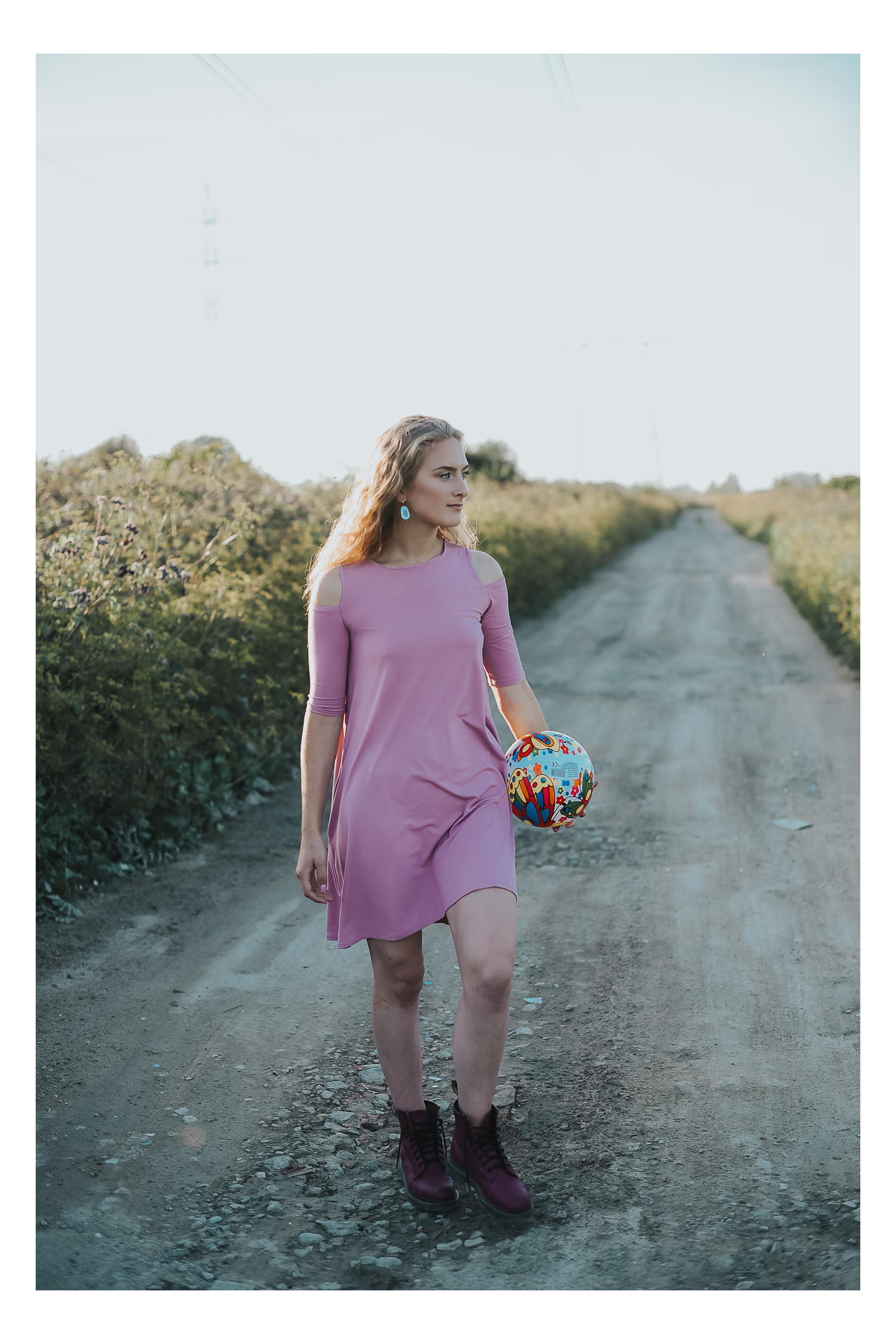 Vasarinė mini suknelė