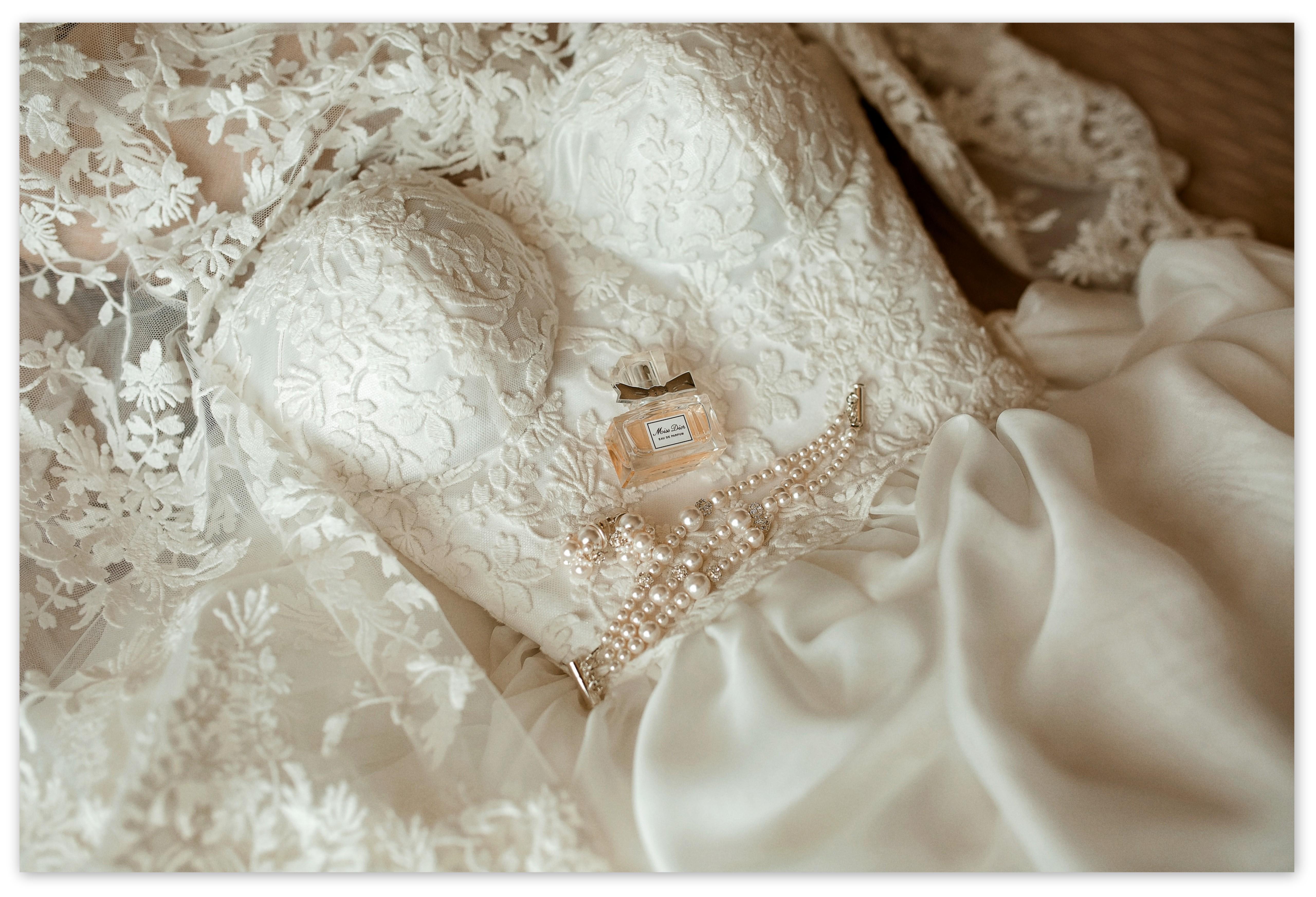 Romantiška nuotakos suknelė