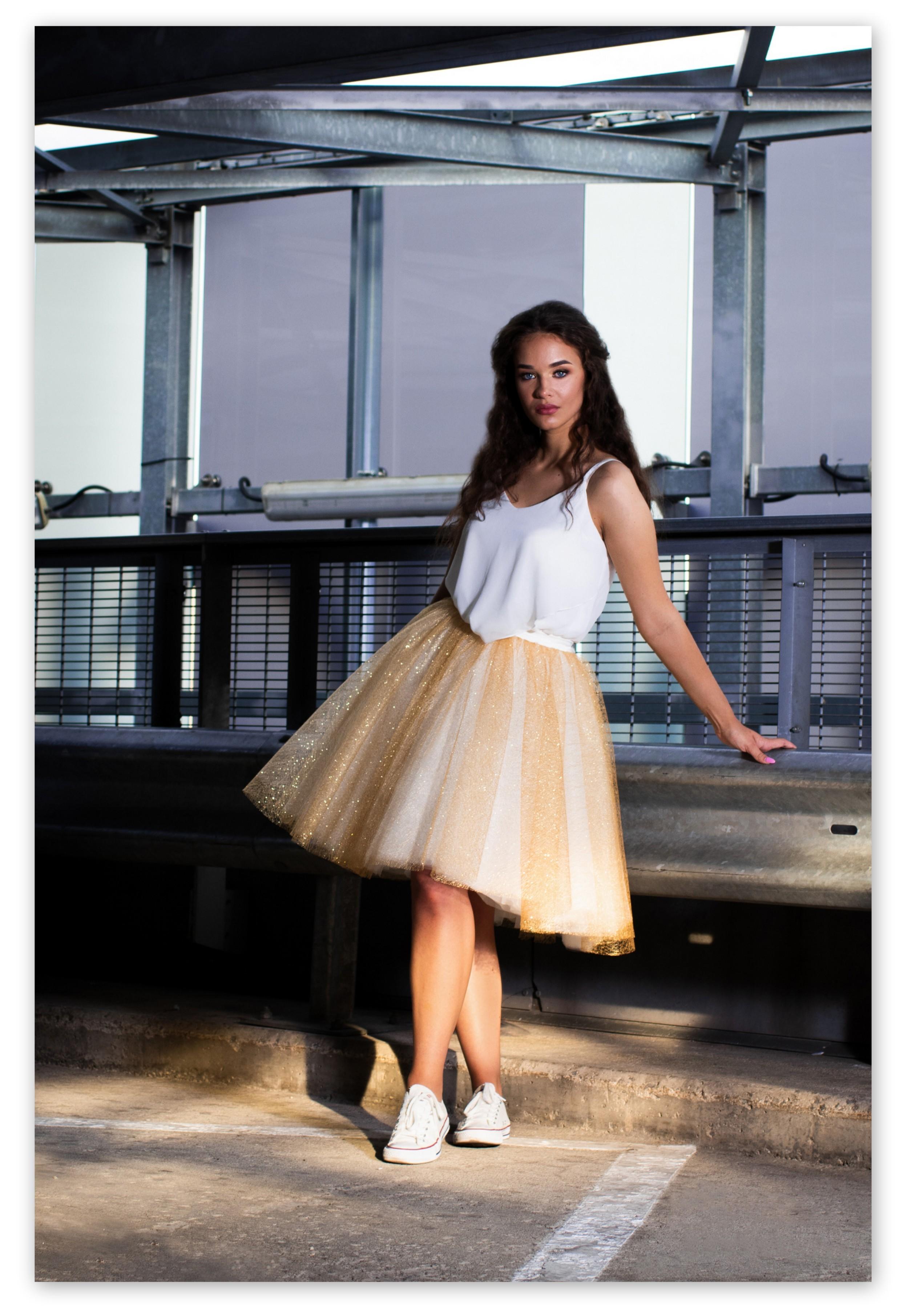 Trijų dalių nuotakos suknelė