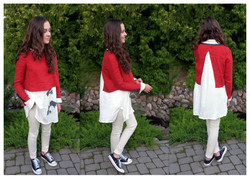 Lininė palaidinė ir marškiniai