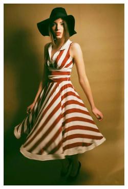 vasarinė suknelė iš viskozės