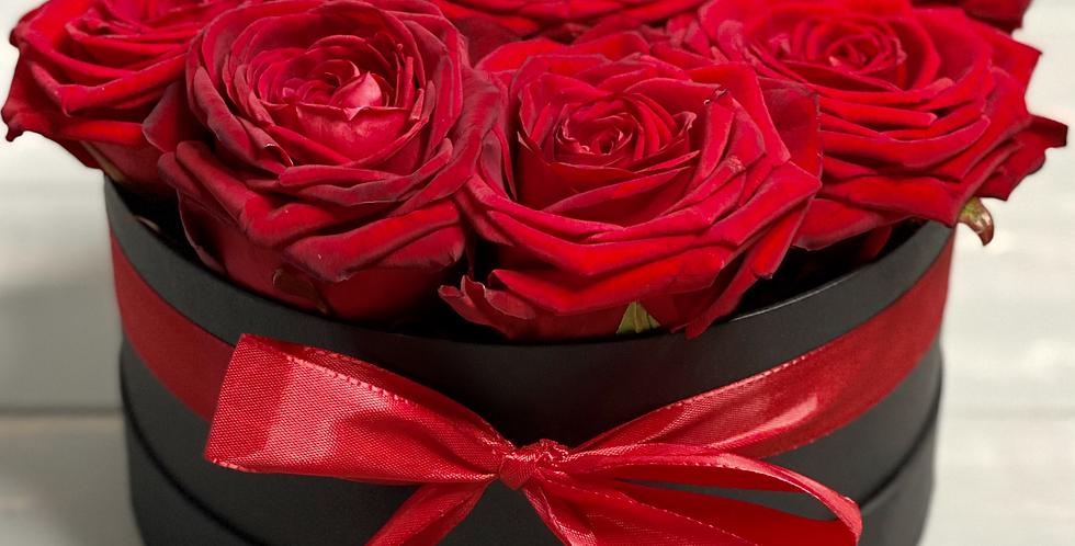 Krabice s růží CLASSIC BOX