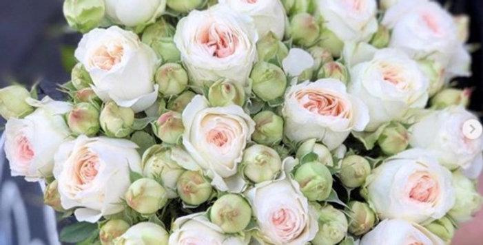 """Buket """"Trsová růže"""""""