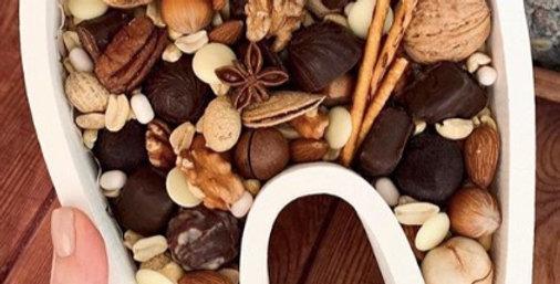 """Dárkový box """"Zoubek"""" s ořechy"""