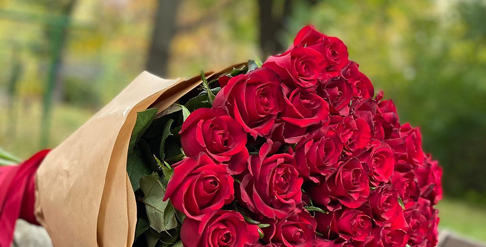 Červené růže 10 ks
