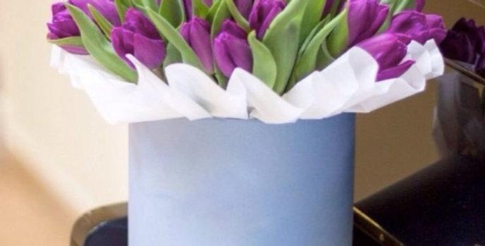 20 tulipánů v krabici
