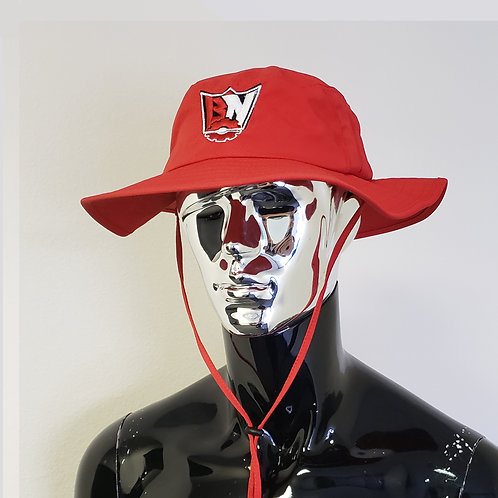 BNG RED BOONIE HAT
