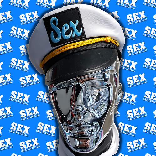 SEX FERGUSON CAPTAINS HAT