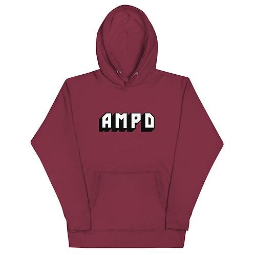 AMPD Essentials Hoodie - Maroon