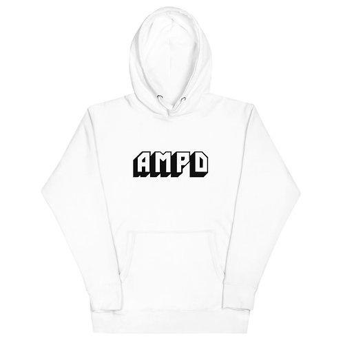 AMPD Essentials Hoodie - White