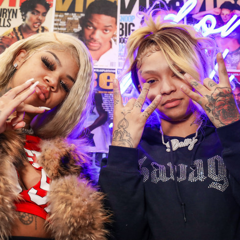 Cuban Doll & Molly Brazy Interview