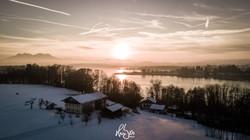 HUBER Media | Chiemsee im Winter