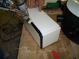 we fabricate HDPE holding grey black water tanks for Boats and RVs Campers and for brands such as cape dory and bayliner