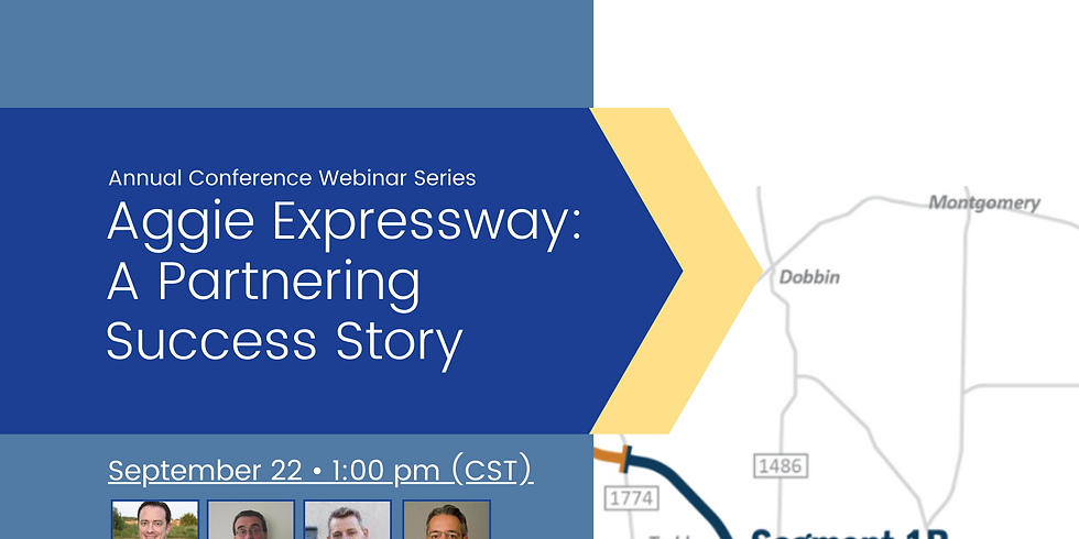 Conference Webinar Series: Aggie Expressway