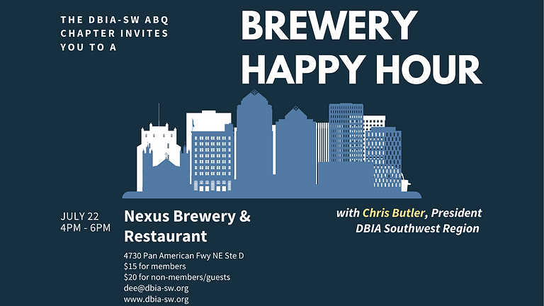 Albuquerque Chapter: Brewery Happy Hour