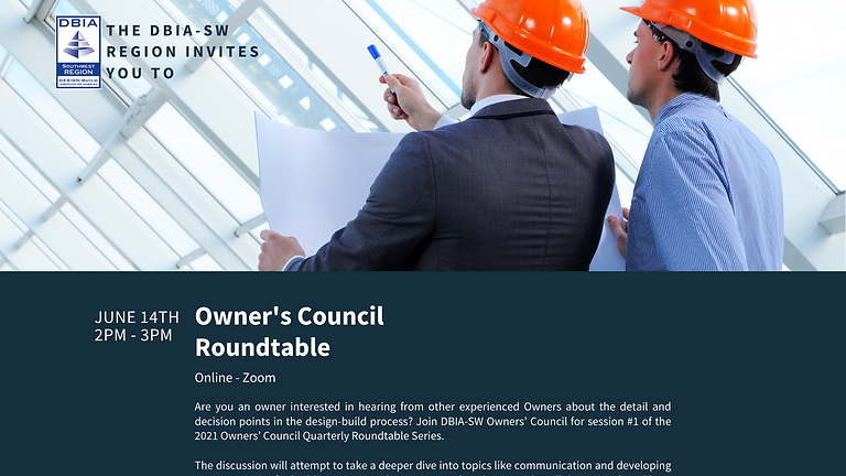 Owner's Council Roundtable Series Session #2