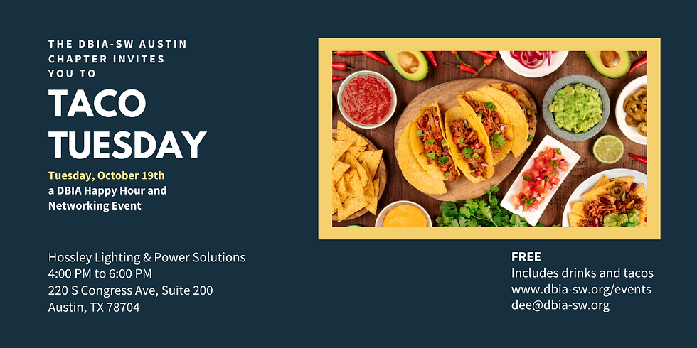 Austin Chapter: Taco Tuesday Networking