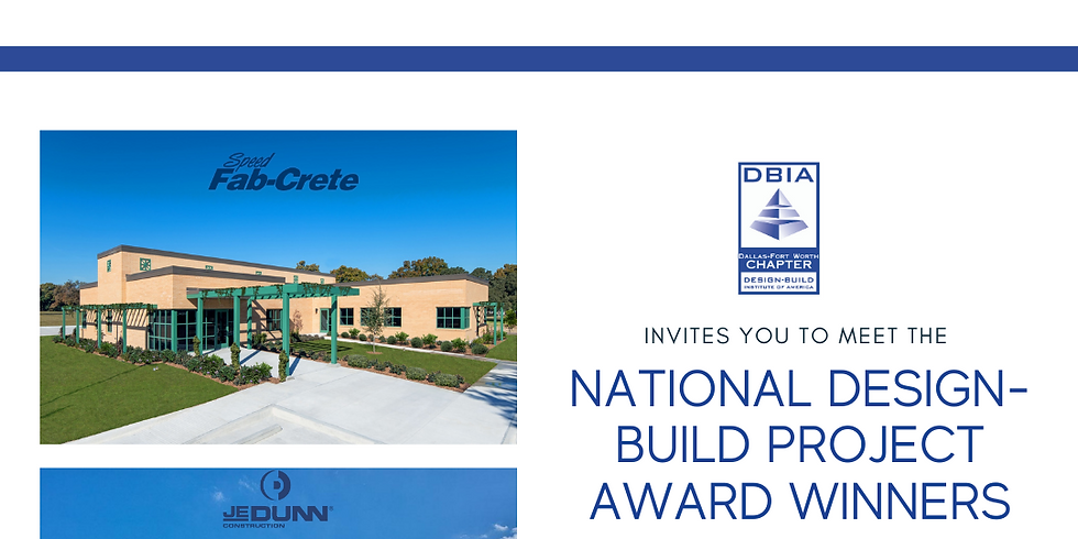 DFW Chapter: Meet, Mingle & Learn with the National DB Award Winners