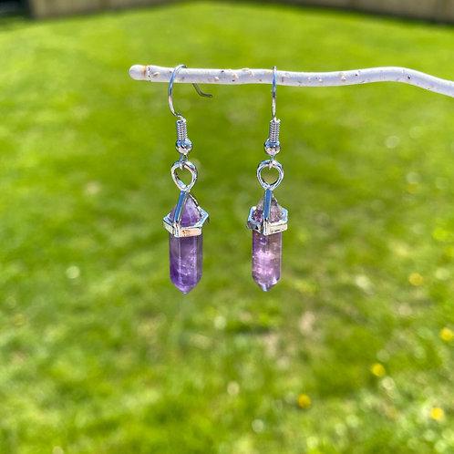 Crystal Hanging Earrings