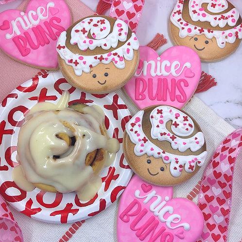 Nice Buns Rocky's Rolls EXCLUSIVE- 6 cookie set