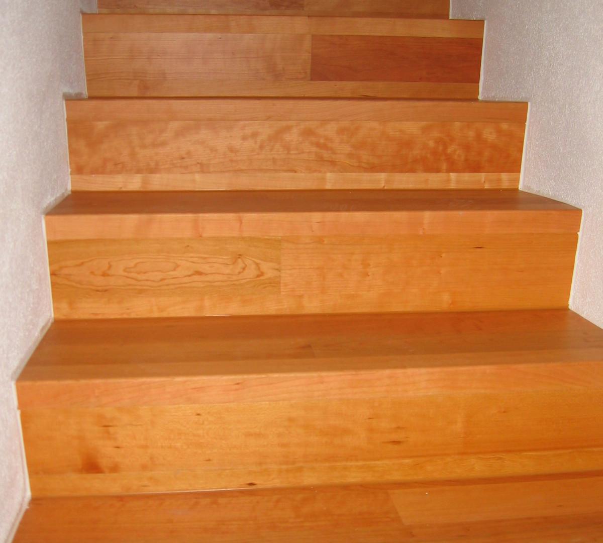 Treppe mit Parkett, Ruch Bodenbeläge GmbH