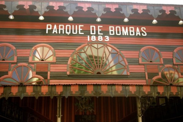 Parque de Bombas in Ponce, Puerto Rico (photo credit: Sammy Rivs)