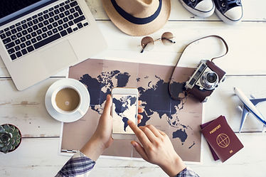 Maps and passports for planning