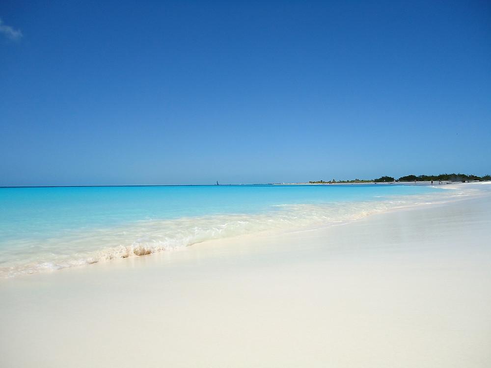 beach sand ocean sky