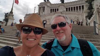 Tiffany & Chris in Italy