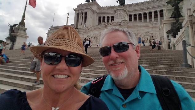 Tiffany and Chris visit France