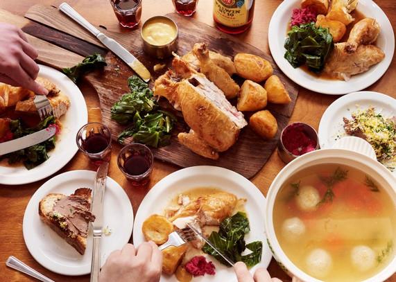 Monty's Deli__Traditional Shabbat dinner