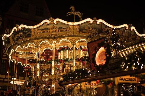 German Christmas Market Carousel