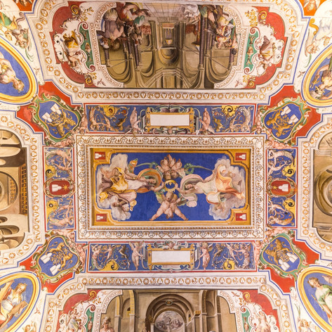 vatican-june-09-2014-the-ceiling-in-one-